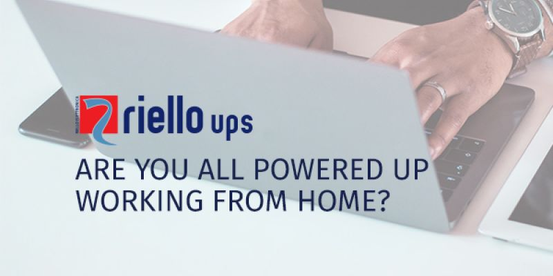 Working From Home? Protect your Power and Stay Online.